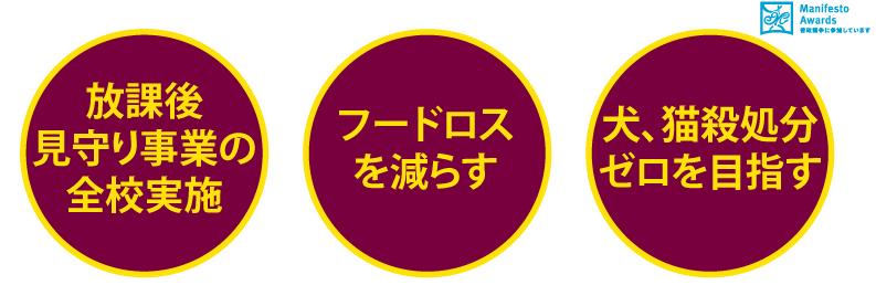 有賀正義のローカルマニフェスト:藤沢の未来のための3つの重点施策